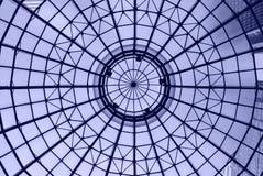 blå kupol Arkivfoto