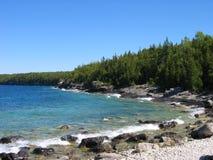 blå kust Royaltyfria Foton