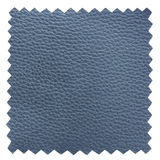 Blå läderprövkopiatextur Royaltyfri Foto