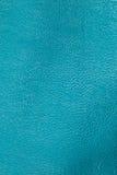 blå lädertextur för bakgrund Fotografering för Bildbyråer