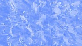 Blå låg poly vibreringsyttersida som utrymmebakgrund Blått polygonal geometriskt vibrerande miljö eller pulserar vektor illustrationer