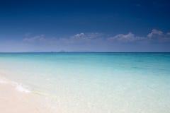 blå lagun Royaltyfri Fotografi