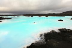 Blå lagun arkivbilder