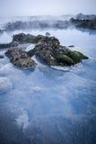 blå lagun Fotografering för Bildbyråer