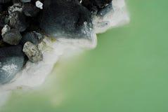 Blå lagun nära av Reykjavik, Island Fotografering för Bildbyråer