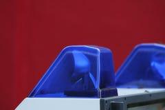 Blå lampa 3 för ambulans Arkivbilder