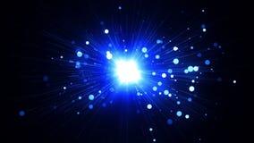blå lampa