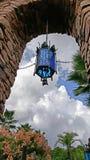 blå lampa Arkivbilder