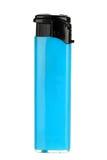 blå lighter Fotografering för Bildbyråer