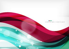 Blå liladesignbakgrund, färgvåg vektor illustrationer