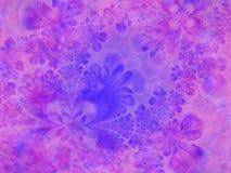 blå livlig blommapinktextur Royaltyfria Bilder