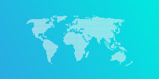 blå ljus översiktsvärld Arkivbilder