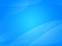 Blå ljusabstrakt begreppbakgrund Royaltyfri Bild