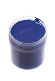 blå målarfärg Royaltyfri Foto