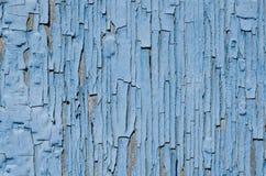 Blå målarfärg, textur Arkivbilder