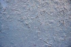 Blå målarfärgvägg Arkivfoton