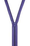 blå mörk zipper Royaltyfria Foton
