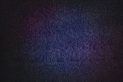 Blå magentafärgad abstrakt textur med svart signal blänker bakgrund Arkivbild