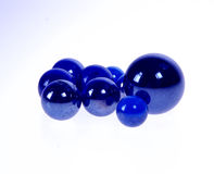 blå marmor Royaltyfri Bild