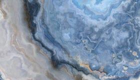 blå marmor för bakgrund arkivbild
