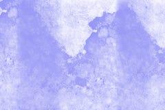 Blå marmoreffekttextur Royaltyfri Bild