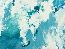 blå marmortextur Arkivfoto