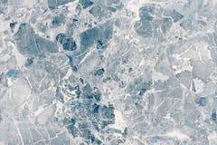 Blå marmortextur för golvavslutningen Gräns - blå marmorbakgrund Fotografering för Bildbyråer
