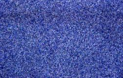 blå matta Arkivfoto