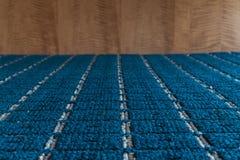 Blå matttextur Royaltyfri Fotografi