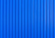 Blå metallvägg royaltyfri bild