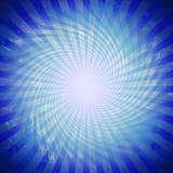blå modell Arkivbilder