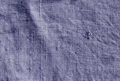 Blå modell för torkduk för färghessianssäck Arkivbild