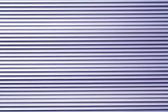 Blå modell för vägg för färgmetalllager Fotografering för Bildbyråer