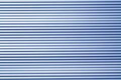 Blå modell för vägg för färgmetalllager Arkivfoton