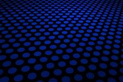 blå modellfläck Royaltyfria Foton