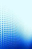 blå modellfläck Arkivfoton
