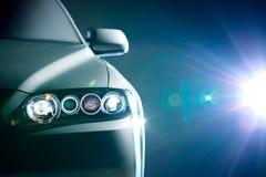 Blå modern bilcloseup Royaltyfria Foton