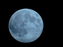 blå moon Arkivfoton