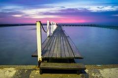 blå morgon Royaltyfria Foton