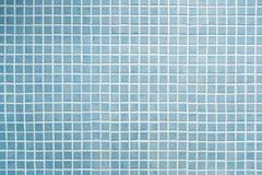 blå mosaik Arkivbild