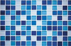 Blå mosaik Royaltyfri Bild