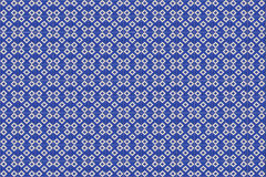 Blå mosaikazulejotextur i Lissabon Royaltyfri Foto
