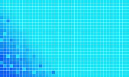 blå mosaikvektor Arkivfoto