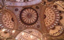 blå moské royaltyfri bild