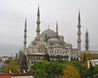 Blå moské i vintern, Istambul Royaltyfri Foto