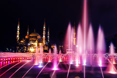 Blå moské - Istanbul Arkivbilder