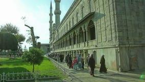Blå moskémorgon Istanbul Arkivbilder