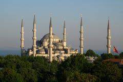 blå mosk Fotografering för Bildbyråer