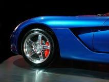 blå muskel Arkivfoton