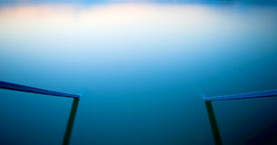 blå natt arkivbilder